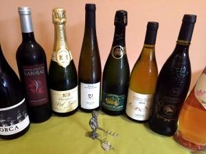 フランスワインいろいろあります